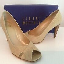 Beautiful Stuart Weitzman Open Toe Heels Color