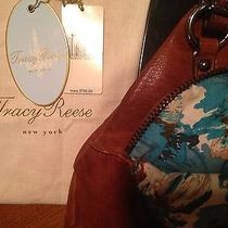 Beautiful Tracy Reese Cognac Celine Tote - 795.00 Photo