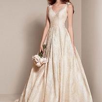 Beautiful Vera Wang Wedding Dress With Magnificent Train Photo