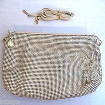 Beautiful Vintage Estate Whiting & Davis White/cream Mesh Clutch Purse Photo