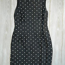 Beautiful Vintage Women's Silk Polka-Dot Dress by Talbots Photo