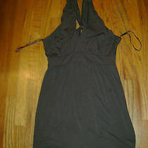Beautiful Women's Brown Deep v  Empire Waist Dress by Express Size 8 Photo