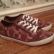 Beautiful Women's Coach Shoes Size 6.5 M in  Excellent Condition Photo