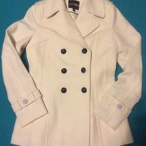Beautiful Women's Express Peacoat in Size Small - Nwot.   Photo