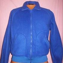 Beautiful Women's Large Columbia Sportswear Blue Zip Fleece Radial Sleeve Jacket Photo