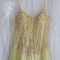 Beautiful Yellow Tiffany Design Prom Dress Photo