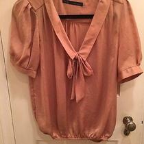 Beautiful Zara Shirt Size Medium. Never Worn  Photo