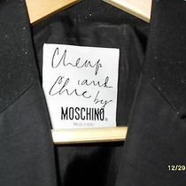 Beautifulauthentic Cheap and Chic by Moschino Blazer-Jacket Ferre Versace Armani Photo