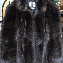 Beaver Fur Coat Hudson Bay C7 Photo
