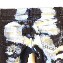 Bebe  25  Modern Skinny Acid Wash Jeans Photo