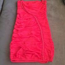 Bebe Beautiful Red Dress Photo