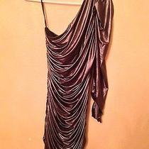 Bebe Bebe Dress Dress Medium Dress Kardashian Woman's Dress Metallic.  Photo