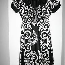 Bebe Black and White Dress  Size S  New Photo