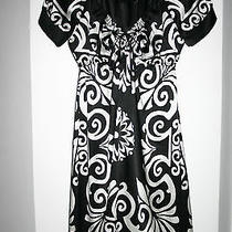 Bebe Black and White Dress  Size S  New Photo