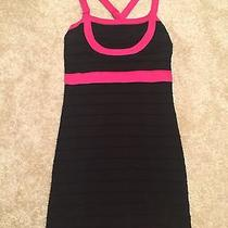Bebe Black Bodycon Dress Size M Photo