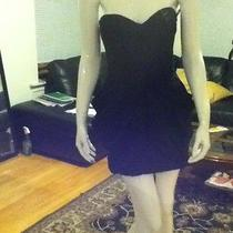Bebe Black Corset Dress Photo