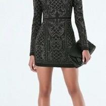 Bebe Black Dress Xs Photo