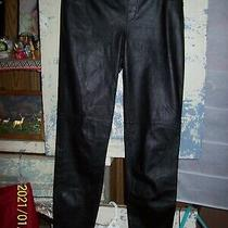 Bebe Black Faux Leather Skinny Pants Size Xs Leather Leggings Gothic Punk Biker Photo