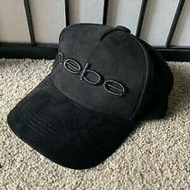 Bebe Black Hat Cap Photo