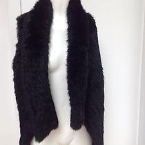 Bebe Black Rabbit Vest Size S/m Photo
