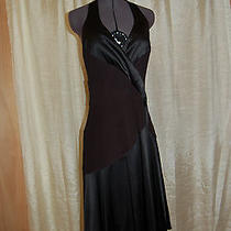 Bebe Black Racer Back Dress Size M Photo