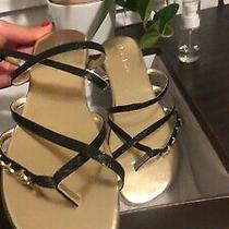 Bebe Black Sandals Size 6 Nwb Photo