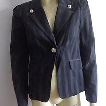 Bebe Black Trendy Jacket Size 6 Photo