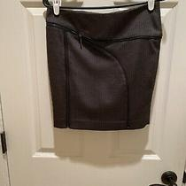 Bebe Black Zipper Skirt Size 2 Photo