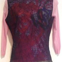 Bebe Blouse - Size Large Photo