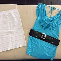 Bebe Blue Top (Medium) Photo