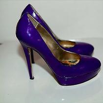 Bebe Blue Violet Heels Photo