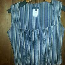 Bebe Corduroy Corset Ladies Top Medium Hot Photo
