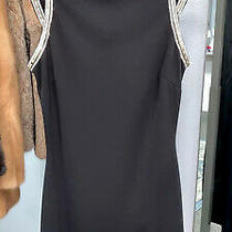 Bebe Dress Size Xs  Black Gold  Silver  Photo