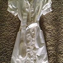 Bebe Dress White Medium  Photo