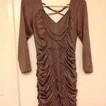 Bebe Evening Clubware Beige Dress Photo