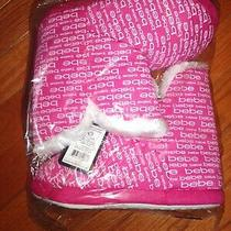 Bebe - Girls Fuchsia Slippers Boots Size 2/3- (New) Photo