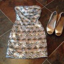 Bebe Glod Sequin Dress Photo