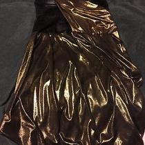 Bebe Gold Dress 148 Photo