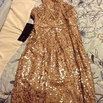 Bebe Gold Dress 159.00 Photo