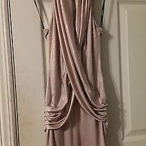 Bebe Gold Dress Xs Photo