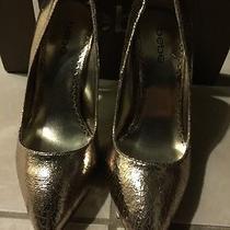 Bebe Gold Heels Sonia Photo