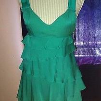 Bebe Green Dress Photo