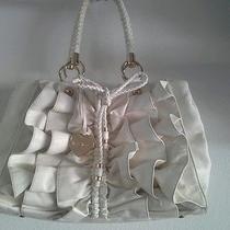 Bebe Handbag Off White Used Condition Photo