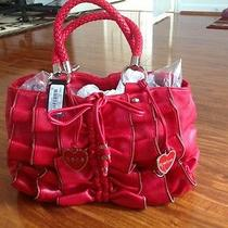 Bebe Handbag Red Color  Photo