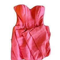 Bebe Hot Pink Mini Dress 00 / Xxs Prom Dance Tulle Bubble Full Skirt Sexy N Cute Photo