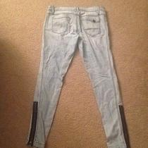 Bebe Jeans 31 Fun Zipper Photo