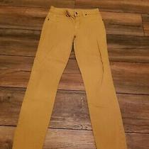 Bebe Jeans Desert Yellow Size 27  Photo
