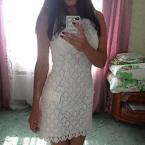 Bebe Lace White Dress Photo