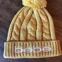 Bebe Ladies Stocking Hat Gold Photo
