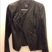 Bebe Leather Jacket Xs Photo